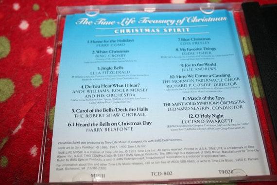 Time Life Treasury Of Christmas.Christmas Spirit The Time Life Treasury Of Christmas Cd 1997 Christmas Music Classic Music Jingle Bells White Christmas O Holy Night