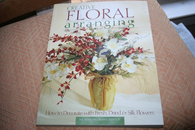 Creative floral arranging how to decorate with dried and silk etsy image 0 mightylinksfo