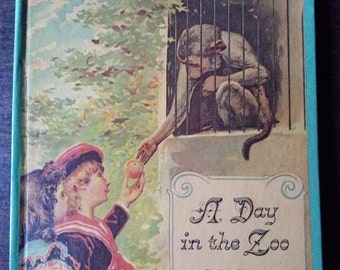 A Day in the Zoo An Adaptation of an Antique Pop-Up Book 1980