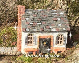 fairy garden house, fairy garden cottage, miniature fairy house, miniature house, gnome house, tiny fairy house, small house