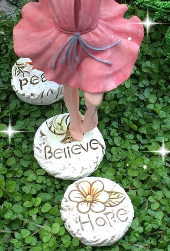 Beau Fairy Garden Step Stones Miniature Stepping Stones Fairy | Etsy