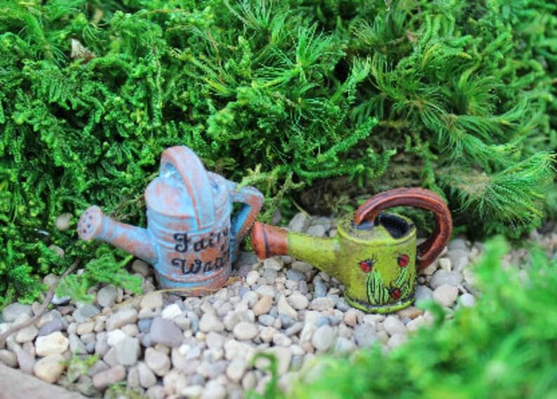 Märchengarten Miniatur Garten Kleine Gießkanne Mini Etsy