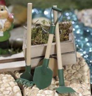 Outils de jardin féerique outils de jardin miniature râteau   Etsy