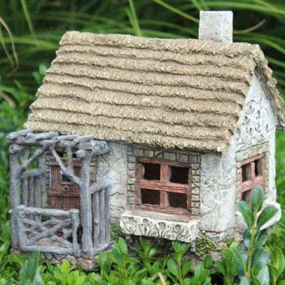 Fairy Garden House, Fairy Cottage With Pergola, Fairy Garden Porch, Fairy  Garden Arbor, Fairy Garden Rustic, Miniature House From DreamFairyGardens  On Etsy ...