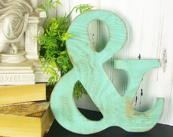 Wooden Ampersand Sign Gallery Wall Decor And Symbol Typography Sign 12 inch Ampersand Prop Wedding Prop Ampersand Wall Art Ampersand Decor