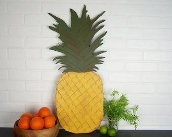 Pineapple Decor Kitchen Wall Art Pineapple Kitchen Decor Tropical Decor Tropical Wall Art Pineapple Art Hawaiian Decor Hawaii Wall Art Sign