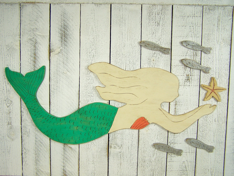 Perfect Mermaid Wall Art Model - Art & Wall Decor - hecatalog.info