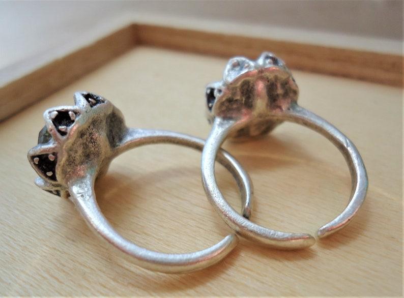 Adjustable Labradorite Ring Boho Ring Dainty Labradorite Ring Healing Jewelry