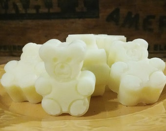 Natural Organic *Butter Bears* All Purpose Butter Bar ~ Lotion, Lip Balm, Protectant, Soother. Dry and Sensitive Skin. *3pk*
