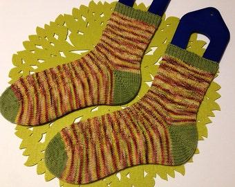Digital File - Uncabled Step Socks