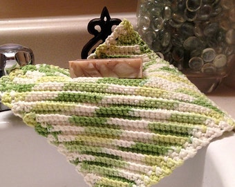 Digital File - Granny's Favorite Crochet Wash/Dish Cloth
