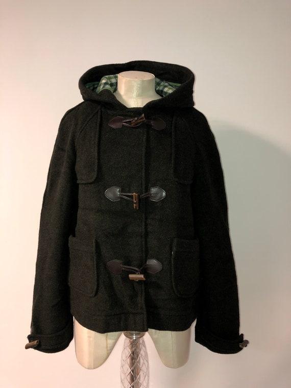 Vintage Lacoste duffle coat / hoode Lacoste coat /