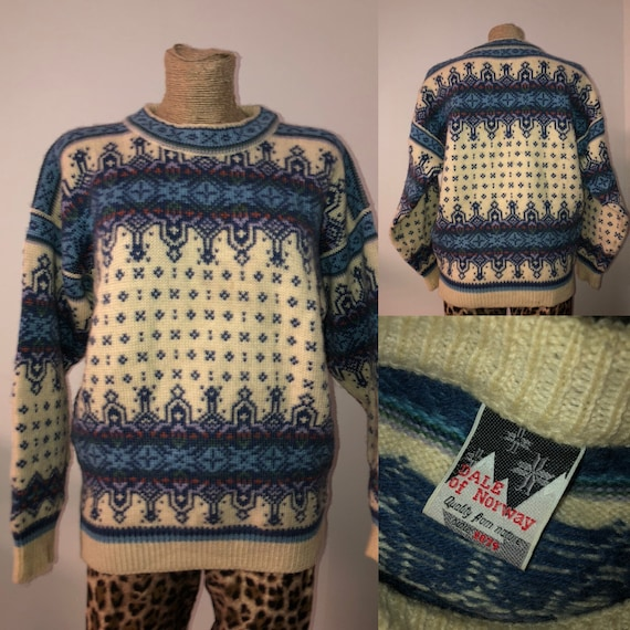 Vintage Dale of Norway sweater / size M / Norwegia