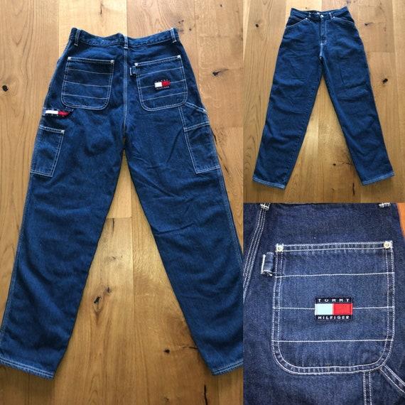 Vintage Tommy Hilfiger cargo jeans / carpenters je