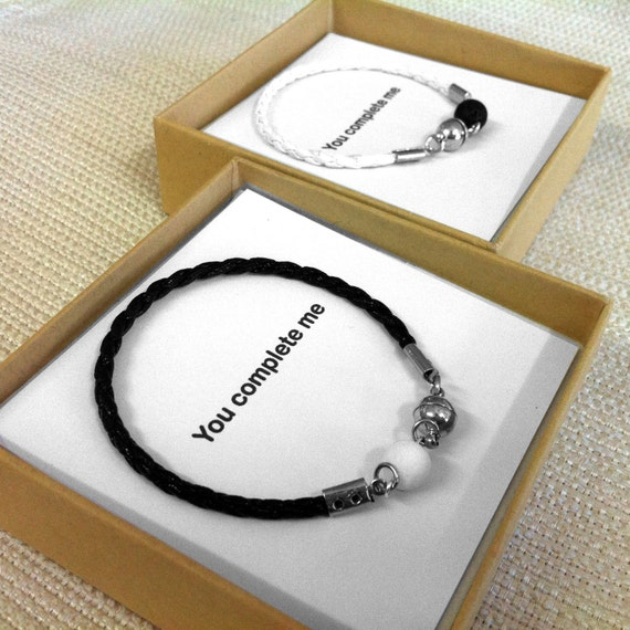 25ede1a02814 Couples Jewelry His And Her Bracelet His and Hers Gifts