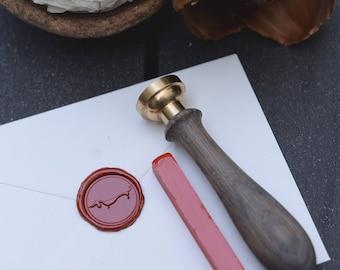 Bright red sealing wax bar