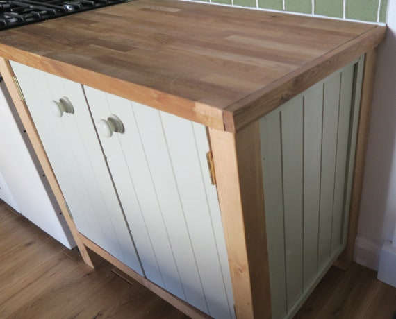 Bespoke Rustic Hand Made Freestanding Kitchen Unit Cupboard 092