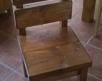 New Handmade Rustic Kitchen Chairs 013