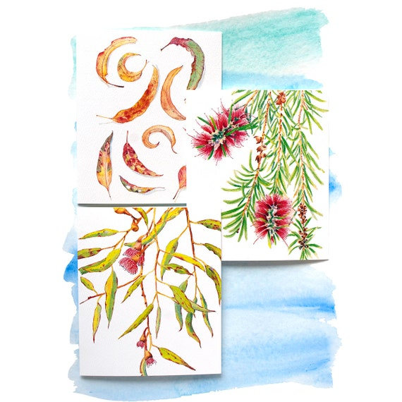 Australian Greeting Cards Variety Pack With Envelopes: