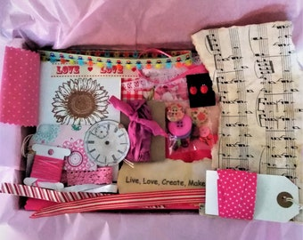 Mindful Inspiration Kit For Children/Junk Journal Bundle/Collage Ideas and Resources for Children's Art and Making
