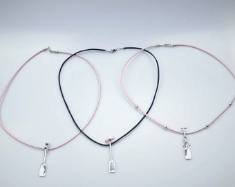 In The Pink! Dragon Boat Paddle Necklace