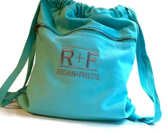 Rodan + Fields Tote, Bag, R+F, Rodan and Fields, Beach Bag, Totebag, Backpack, Cinch Sack