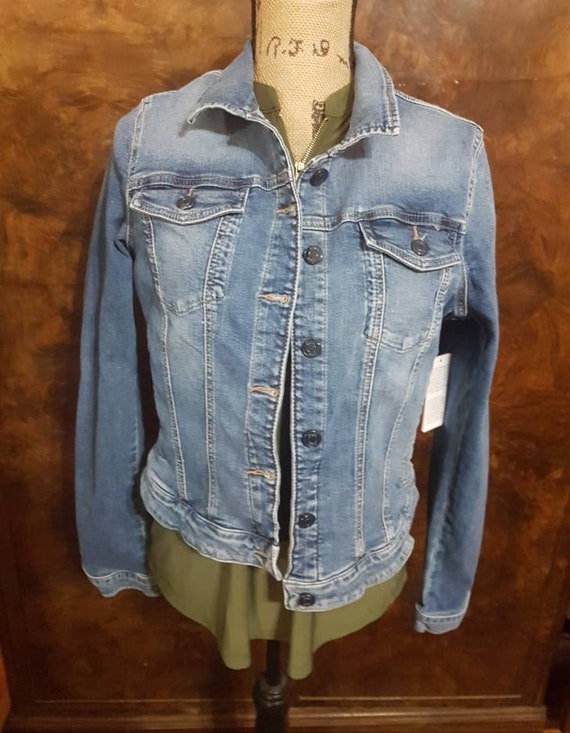 Guess jean jacket, Size Large jean jacket,  Denim