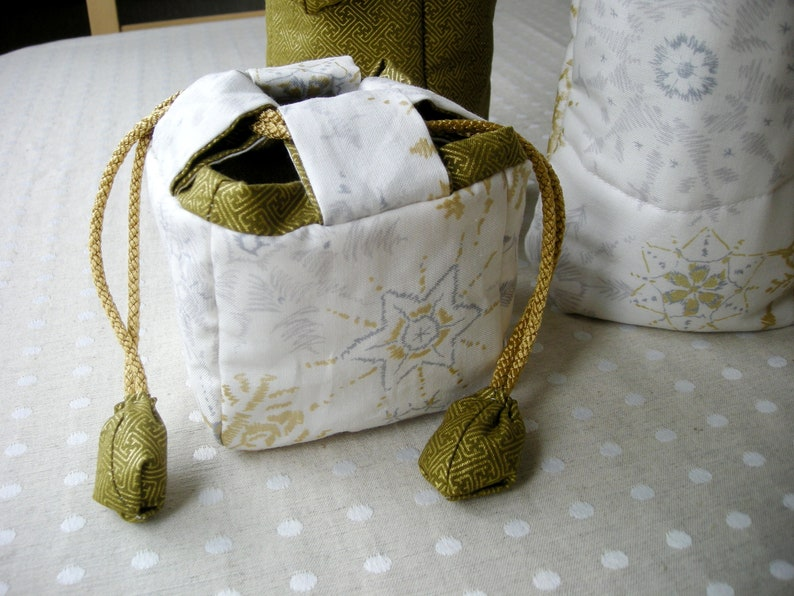 Digital sewing Pattern PDF Fabric Gift Bag and Wine Bottle Covers