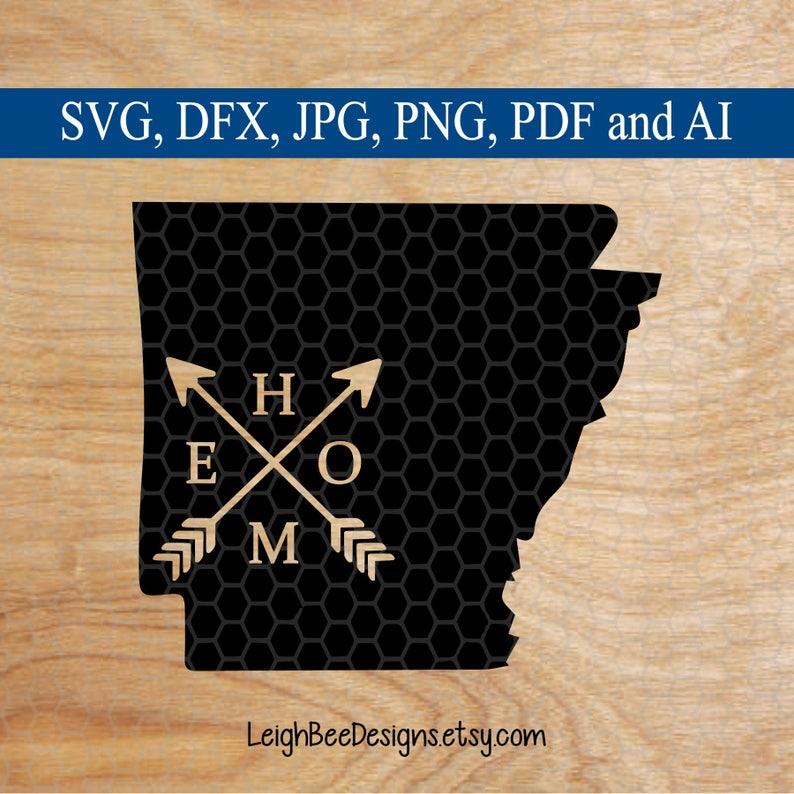 SVG svg cutting file svg designs cutting files Arkansas SVG svg file svg files for circut svg Files cut files state Home SVG