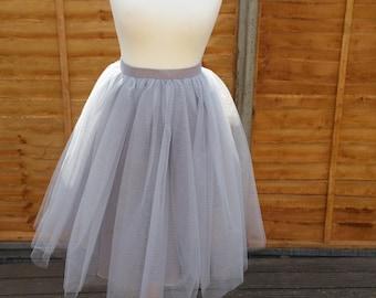 THE SWAN LADY Tulle Skirt/ Tutu Skirt