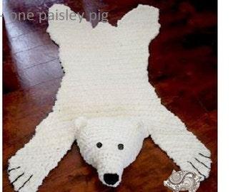 Polar Bear Pattern Etsy