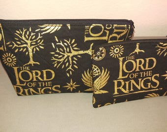 Lord of the Rings cosmetic bag and coin purse