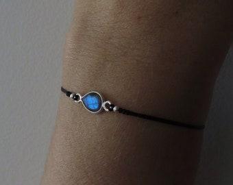Silber perle armband | Etsy