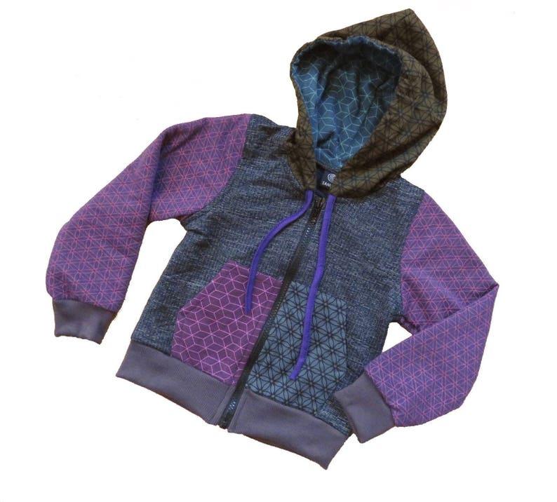 Kids Hoodie patchwork style
