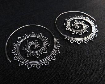 "hoops  ""Satna"" silver"