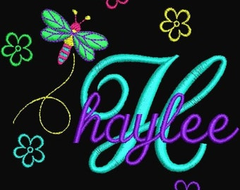 HUGE Sale Instant Download Embroidery Machine Designs Fonts Alphabet Dragonfly Flowers Childrens Baby Designs PES Format gift