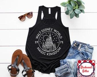 ca1e5f13e2fbc Magic Kingdom Walt Disney World Shirt Disney Shirts Disney Tank Top Disney  shirts for women Disney Family Shirts Disney World Mickey Mouse