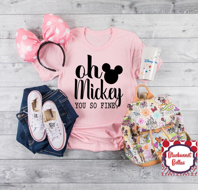 cfa8a186c Oh Mickey You So Fine Shirt/Disney Shirts/Disney Shirts for | Etsy