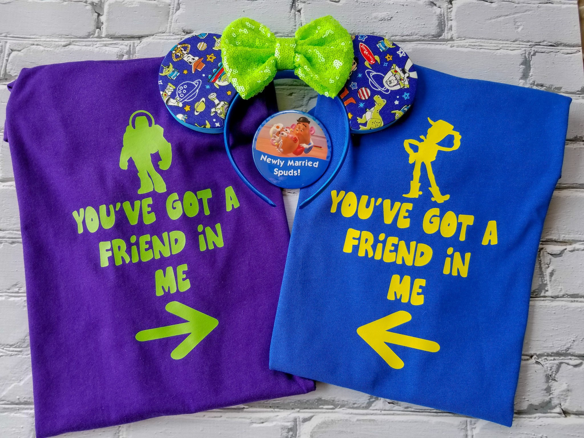 Disney Shirts Toy Story You Ve Got A Friend In Me Shirt Disney Family Shirts Disney Couple Shirt Friends Shirt Disney Woody Buzz