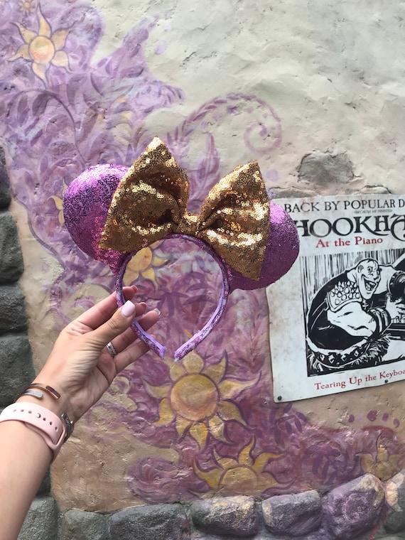 Rapunzel Inspire Des Oreilles De Souris Oreilles Mickey Oreilles