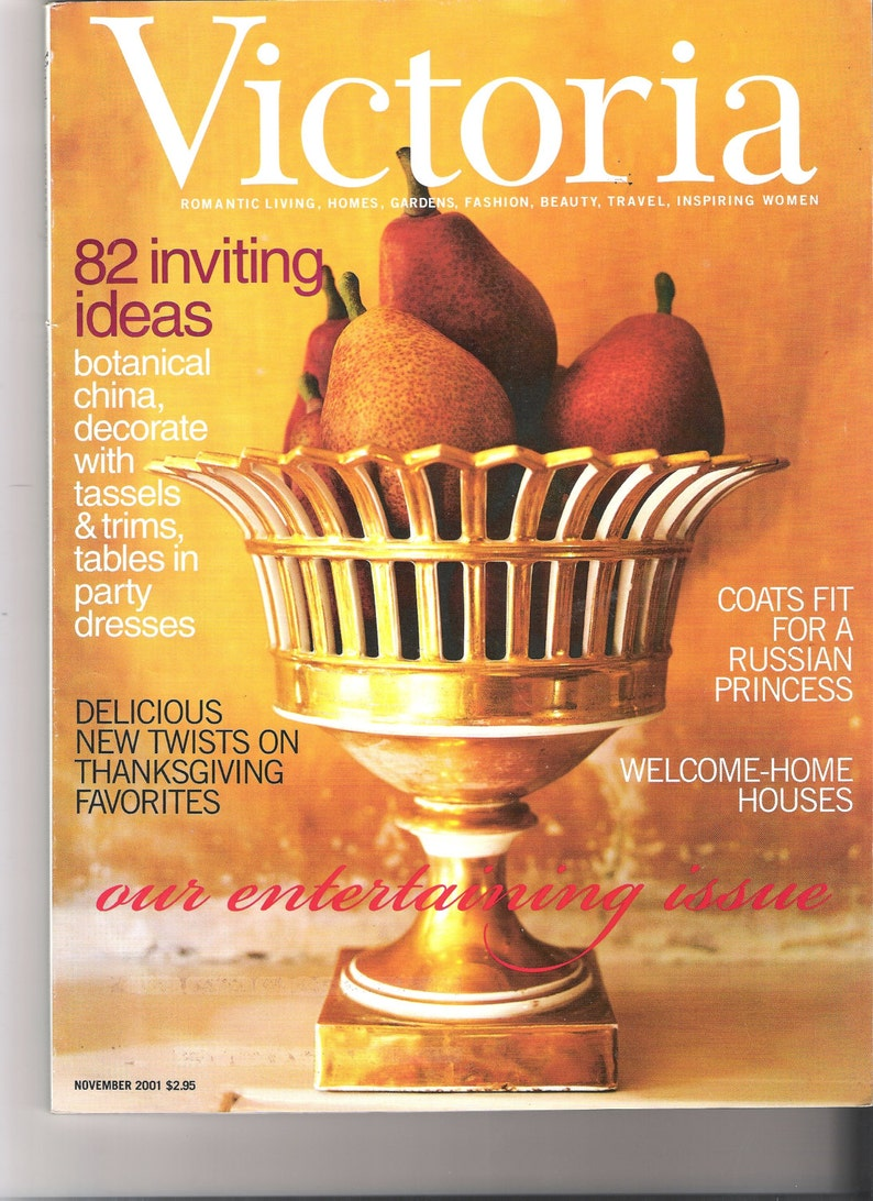 Vintage & Classic Victoria Magazine Nov 2001