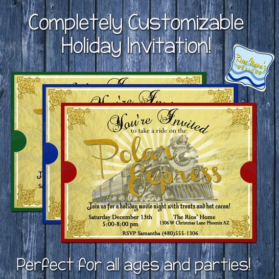 Items similar to Printable Holiday/Christmas Party ...