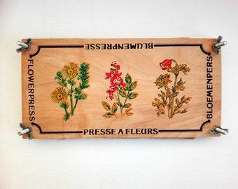Vintage Plant Press Etsy