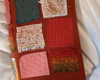 Cloth Slow-stitched Patchwork Artist Book