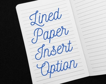 ADD-ON: Lined Paper for TN Insert