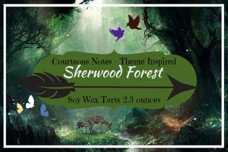 Sherwood Forest Disney Theme Park Inspired Soy Wax Tarts