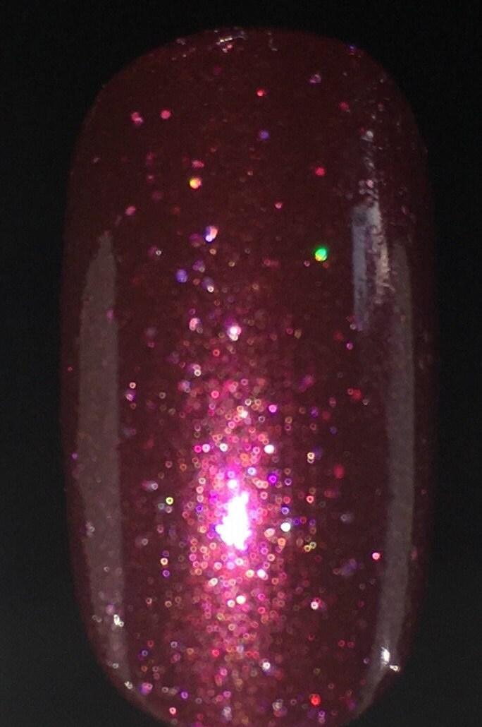 Glitter Nail Polish- Burgundy, Wine, Maroon, Deep Red, Dark Red Nail ...