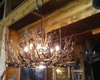 Branch chandelier etsy popular items for branch chandelier aloadofball Image collections