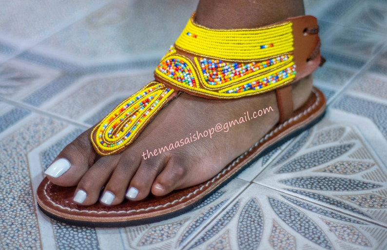 b84c18e723334 Handmade Leather Sandals/ Greek Sandals / Maasai Sandals