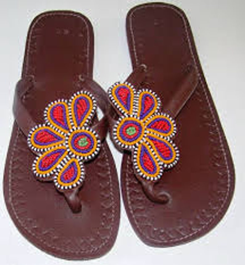 Handmade Leather Sandals African slippers
